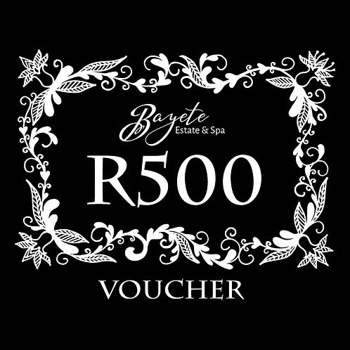 Bayete Spa R500 Voucher