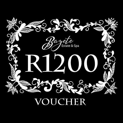 Bayete Spa R1200 Voucher