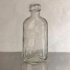 Bottle_Oil on board 31 x 25.5cm_I'm exhi