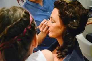 Brautstyling Make-Up