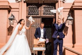 Brautstyling für die Hochzeit