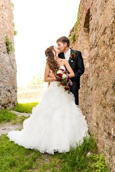 Elegantes Hochzeitsstyling