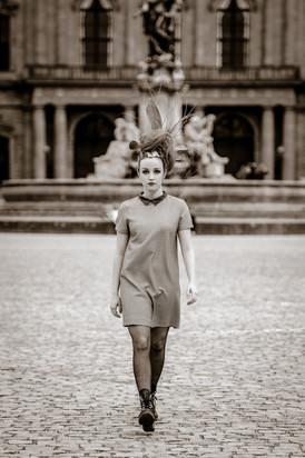 FashionShooting kreativ Headpeace