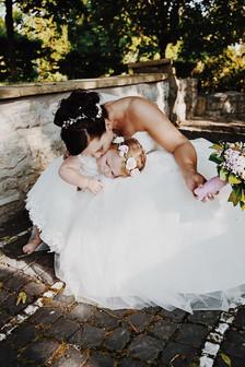 Brautstyling für Mutter & Kind