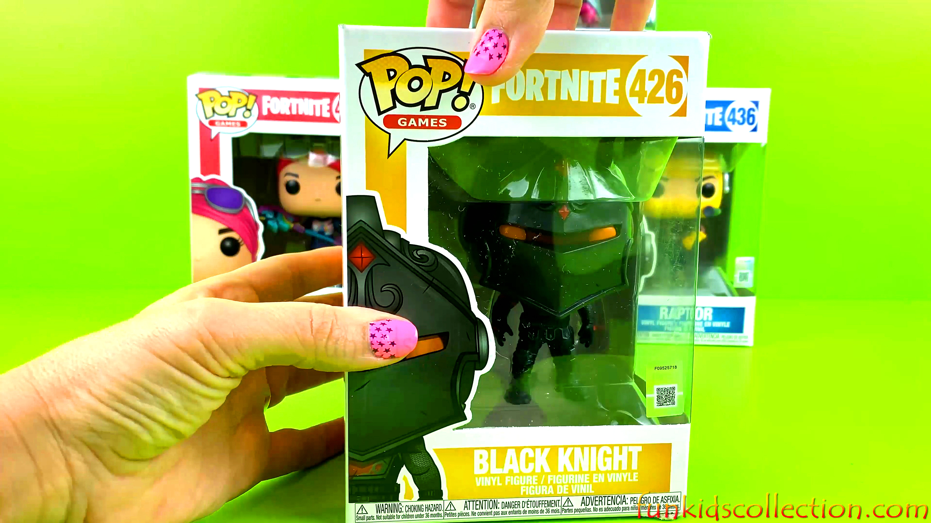 Fortnite Funko Pop Vinyl Opening Brite Bomber Pop Raptor Vinyl Figure Black Night Pop Love Ranger