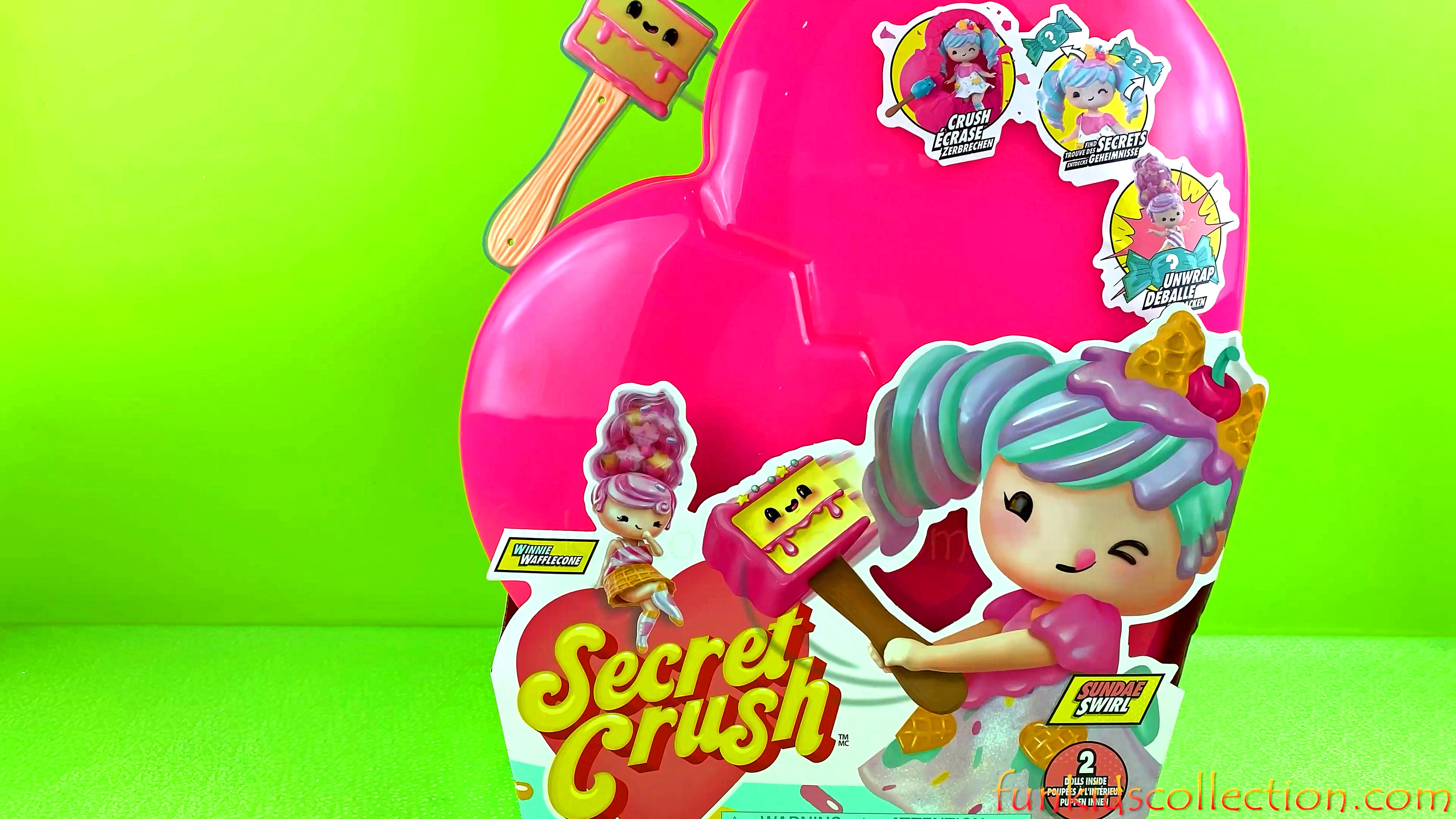 Winnie Wafflecone & Sundae Swirl | Secret Crush Surprise Large Dolls and Mini Dolls Unwrap