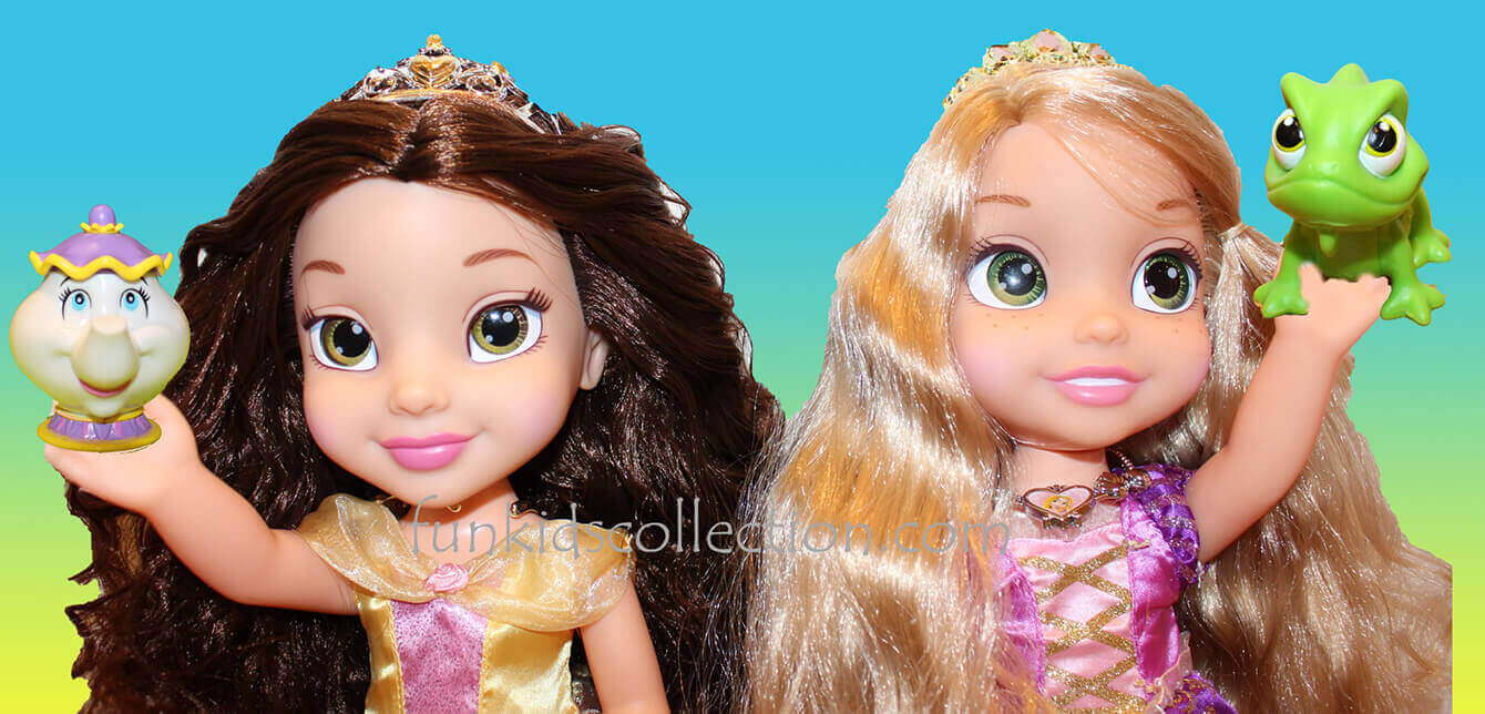 Bell and Rapunzel Dolls