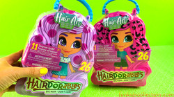 Unboxing Hairdorables Hair Art Series | 2 Dolls Hairdorables Big Hair with 11 Surprises Blind Bags