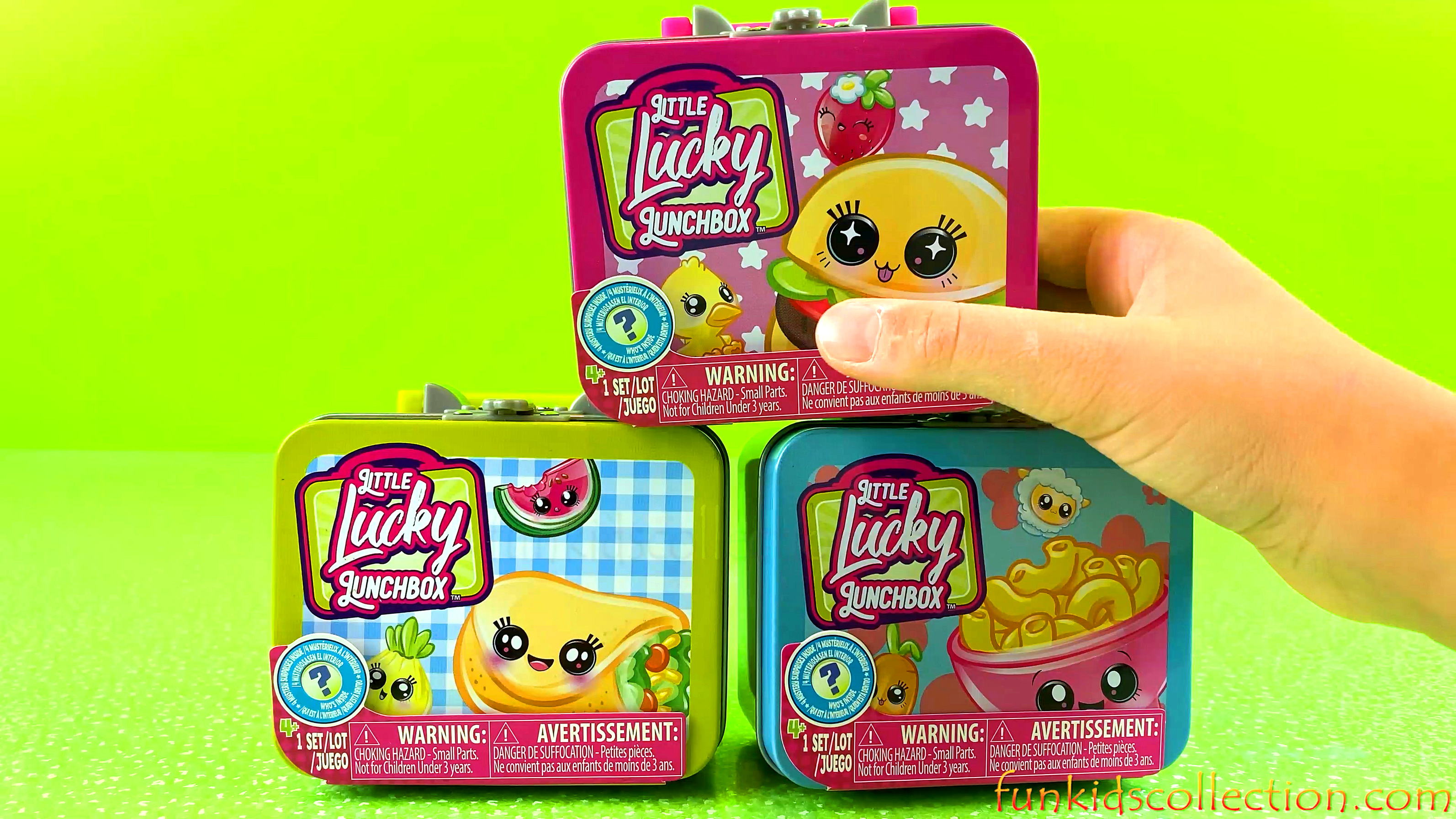 Little Lucky Lunchbox Series 1 | Opening Lunchbox Blind Bags Squishy Surprises Toys | EBD Toys