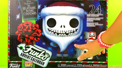Funko Advent Calendar Review | Disney Nightmare Before Christmas Funko Pocket Advent Calendar