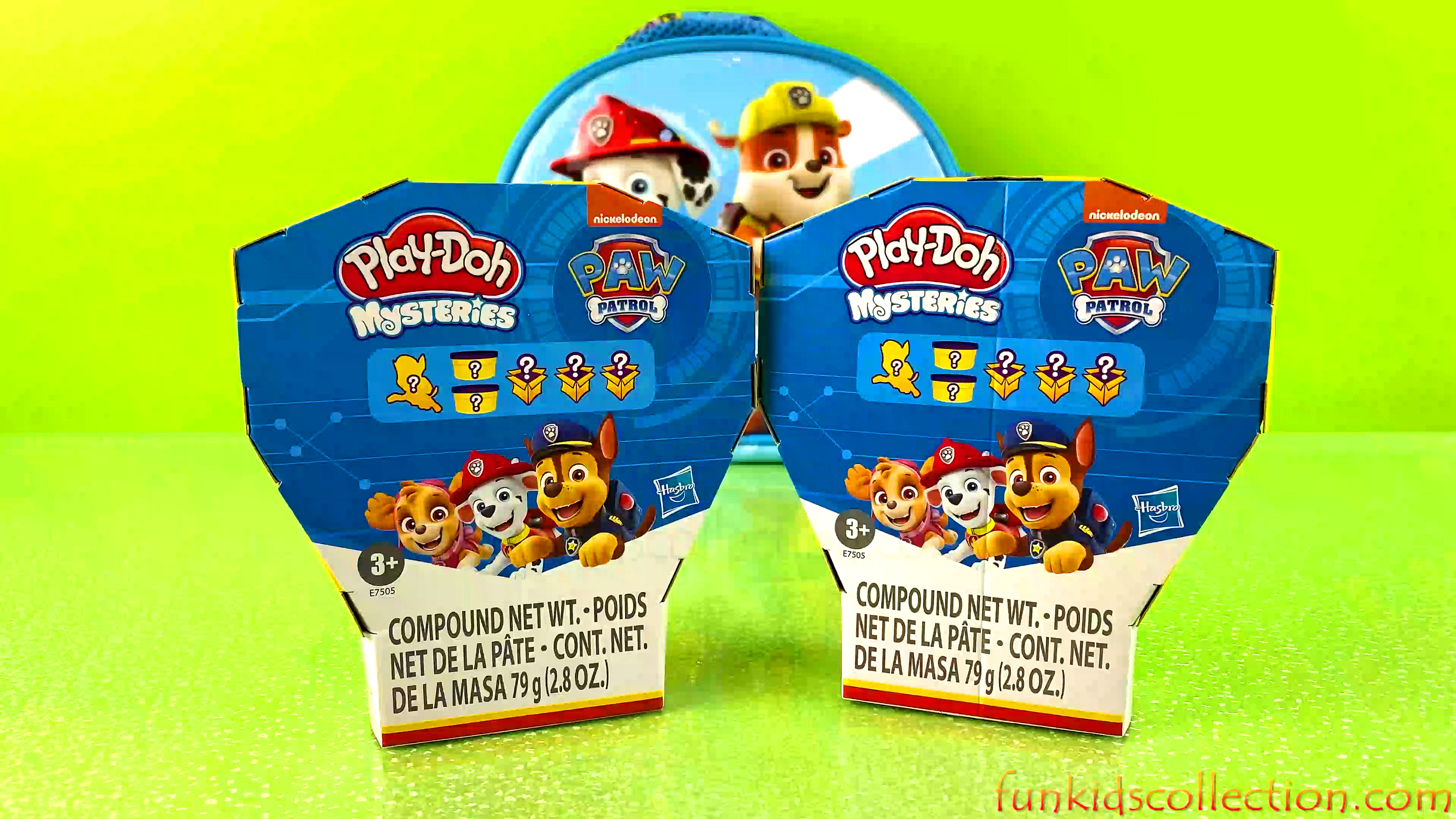 Paw Patrol Play Doh Mysteries | Find and Create the Mysteries Paw Patrol Play Doh | EBD Toys
