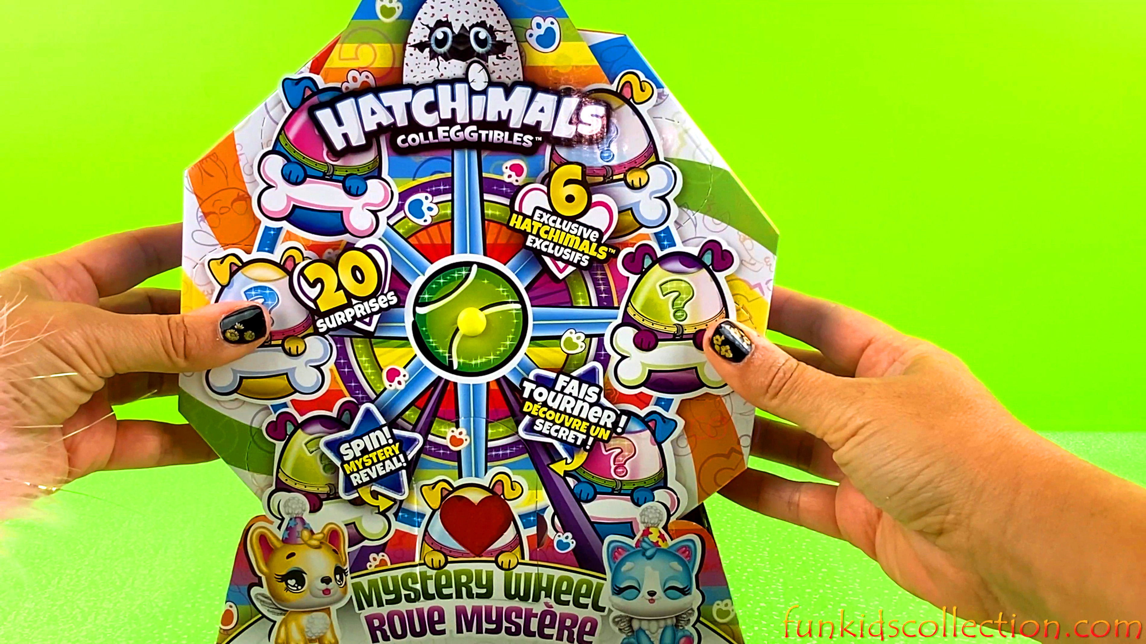 Hatchimals Colleggtibles Mystery Wheel Toy | Cat Crazy Pack! | EBD Toys