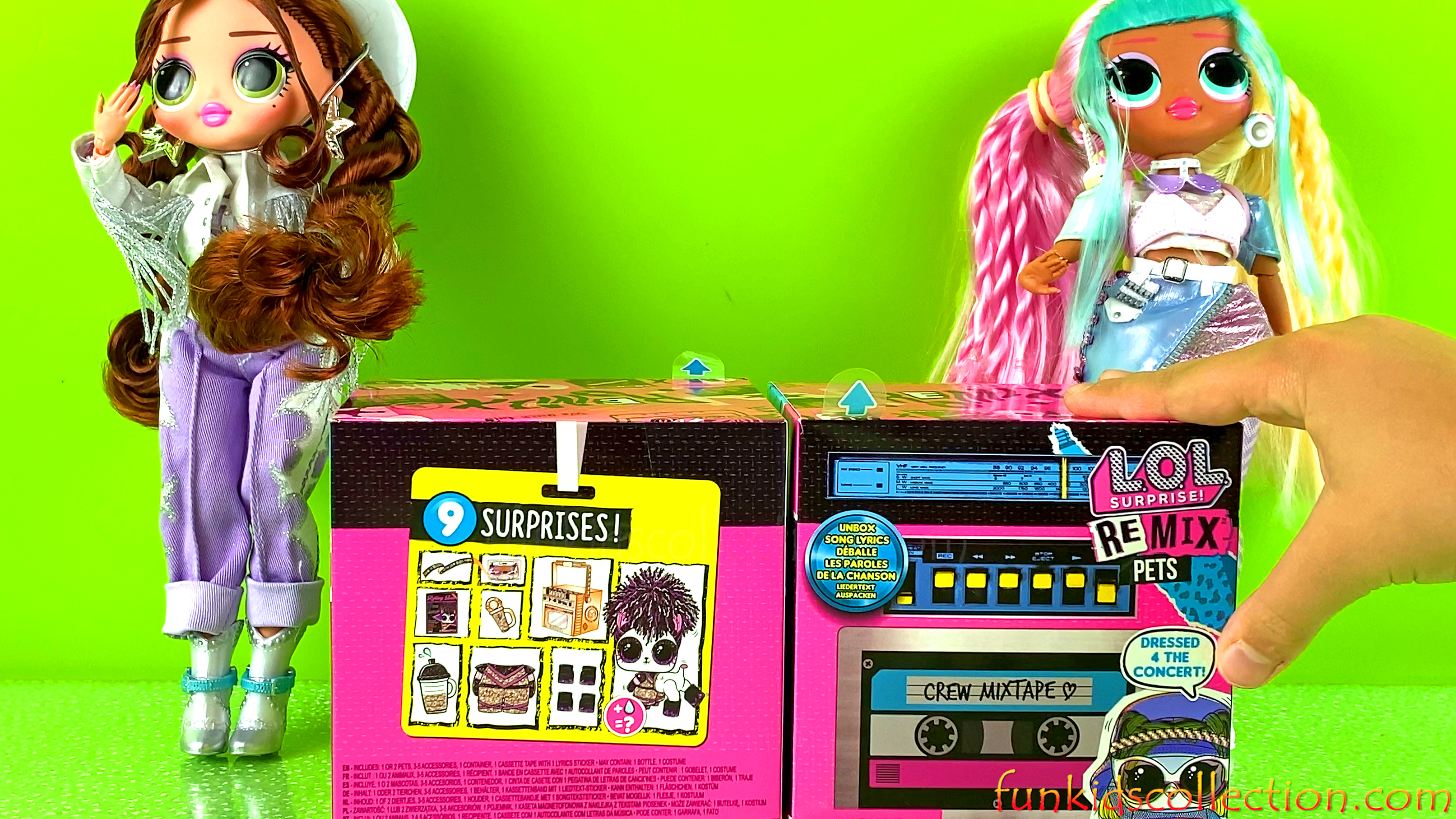 Lol Surprise Remix Pets | Unboxing LOL Surprise Remix Series & LOL Surprise Boombox | EBD Toys