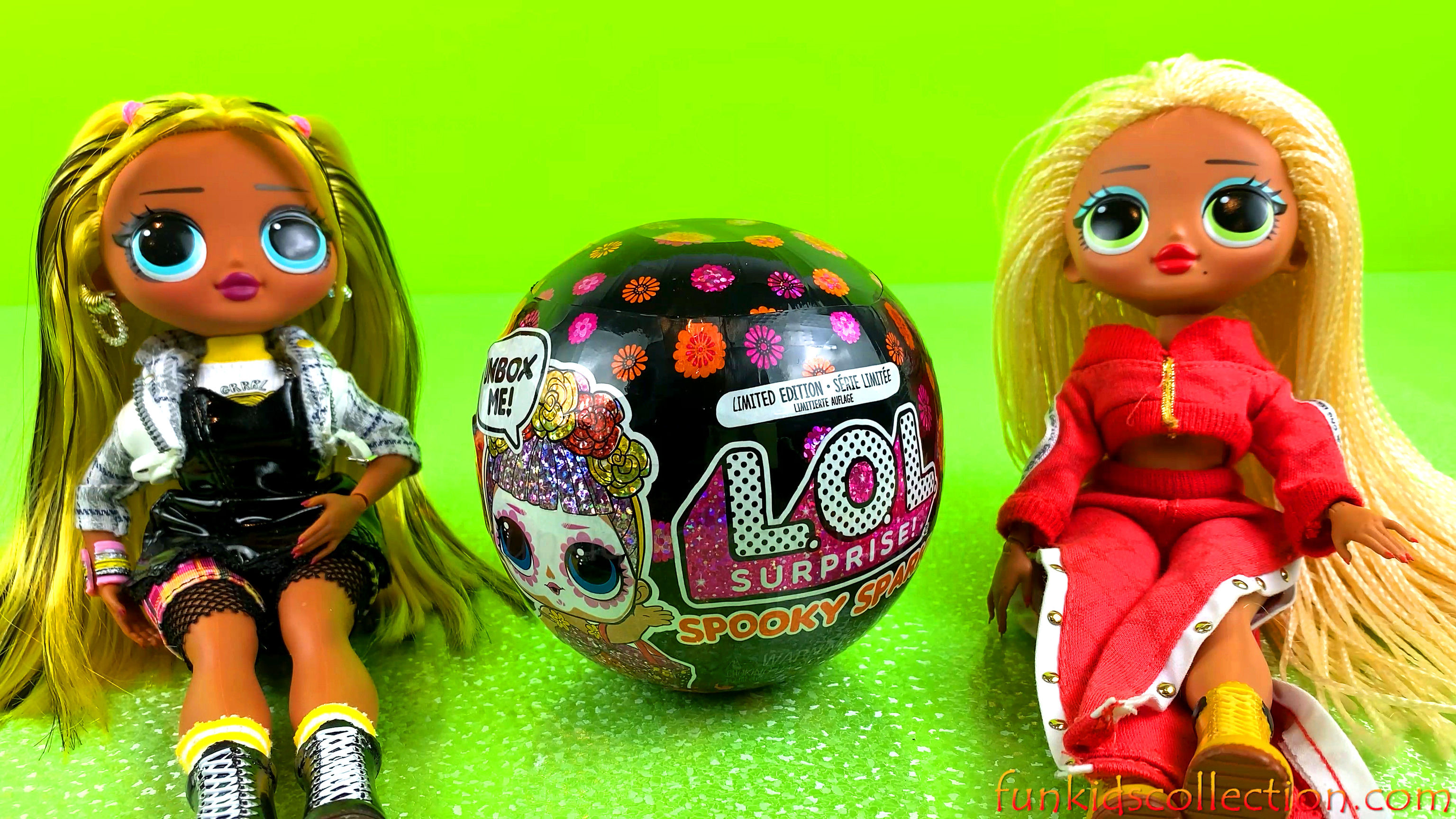 Happy Halloween with LOL Spooky | LOL Surprise Spooky Sparkle Series Limited Edition | EBD Toys