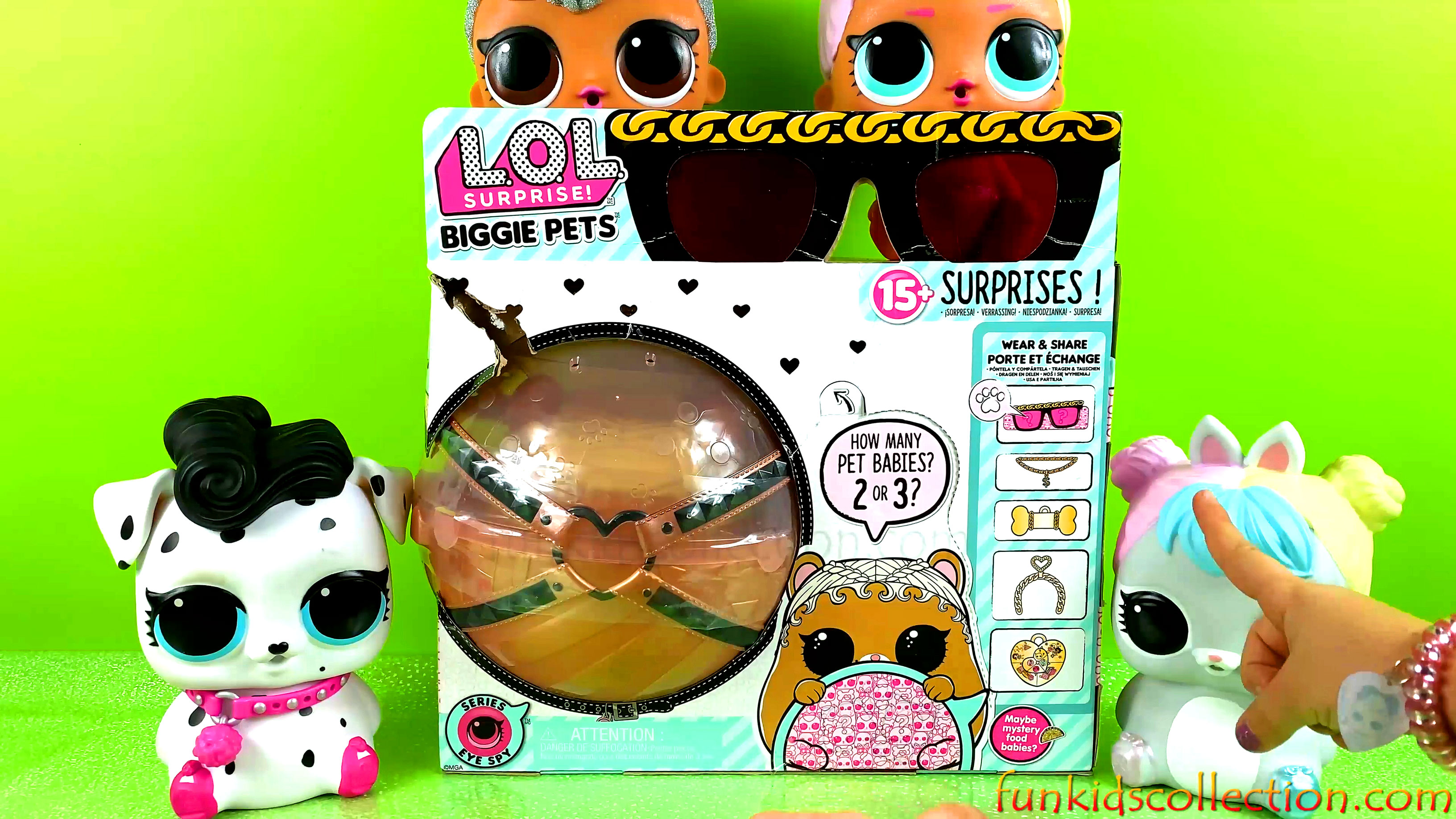 Unboxing Lol Surprise Biggie Pets M.C. Hammy | Lol Surprise Biggie Pets 15 Blind Bags Surprises Open