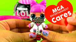 LOL Surprise MGAE Cares Doll with MASK | Unboxing MGAE Cares L.O.L. Surprise Frontline Hero Doll