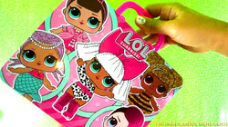 Lol Surprise Puzzle Lunch Box | Creating LOL Surprise Puzzle 48 pcs - funkidscollection.com