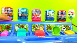 Pop up Animals with Toy Surprises Fashems Barbie Paw Patrol Mashems Toy Story 4 Mashems