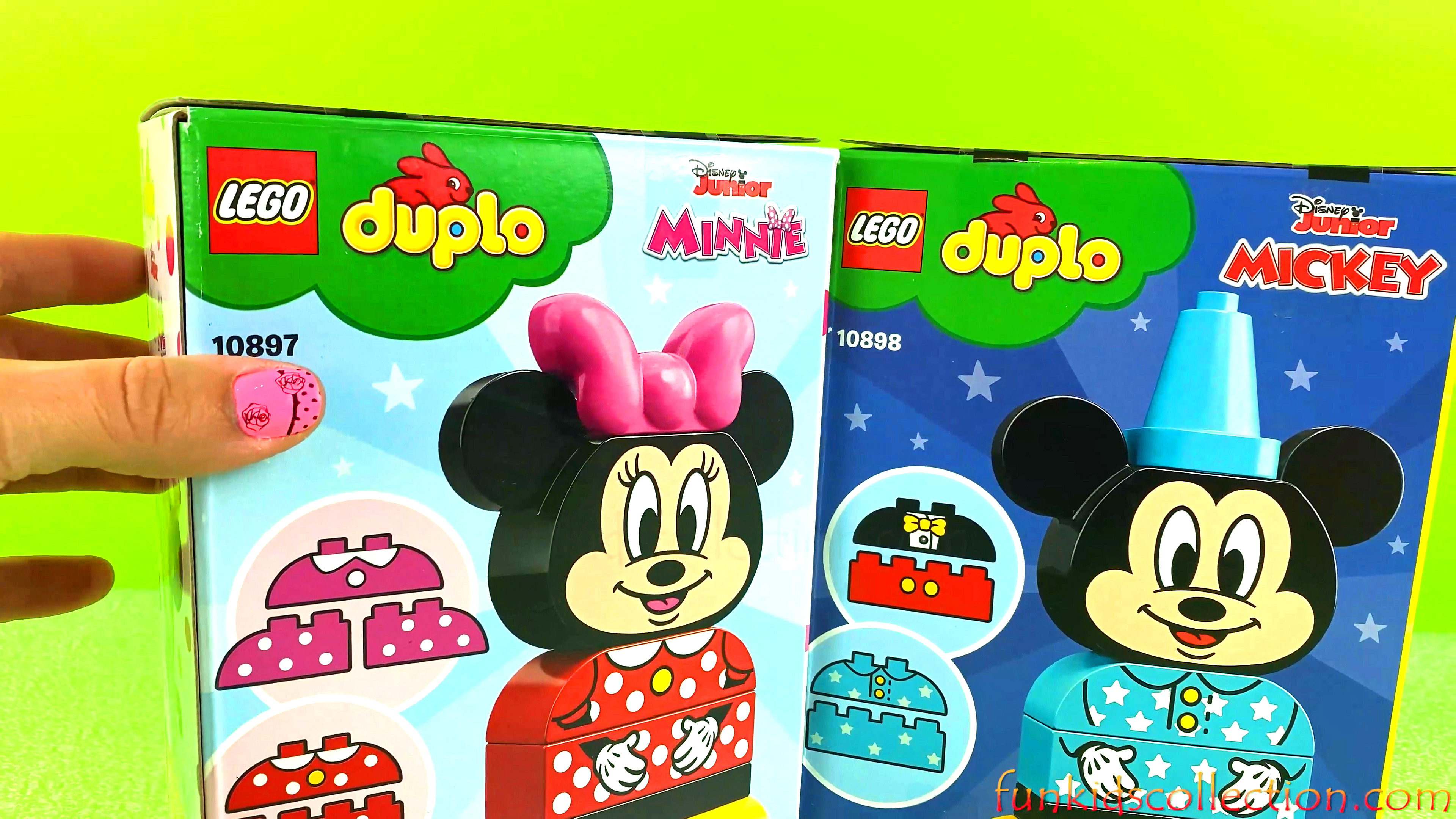 Disney Junior Mickey & Minnie Duplo Lego | Creating Mickey & Minnie Duplo Lego 10 pcs