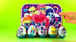 Opening My Little Pony Egg Surprises | My Little Pony Lunch Bag with My Little Pony Egg Surprises