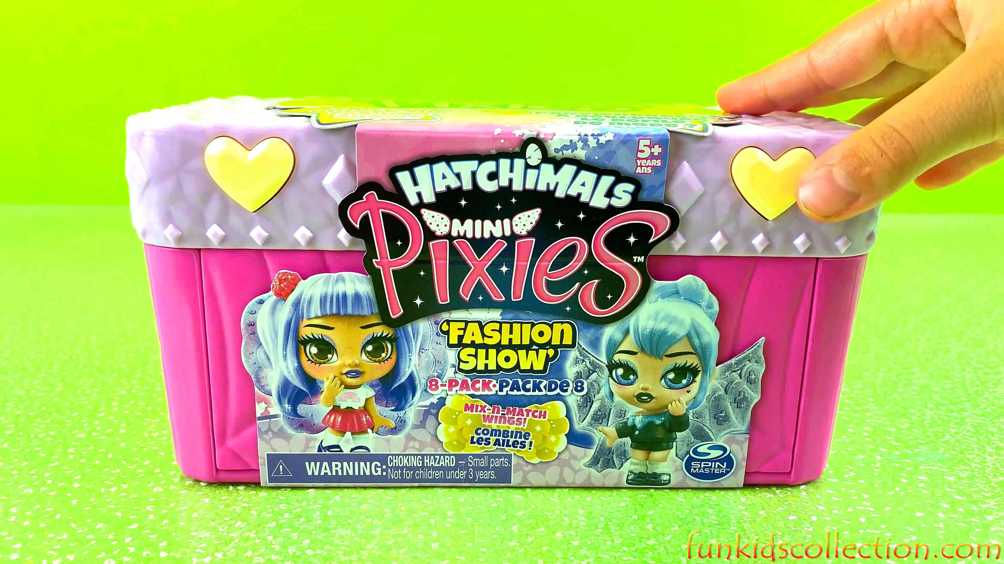 Hatchimals Mini Pixies Fashion Show Mix Match Wings | Opening Pack Surprise Eggs Butterfly Firefly