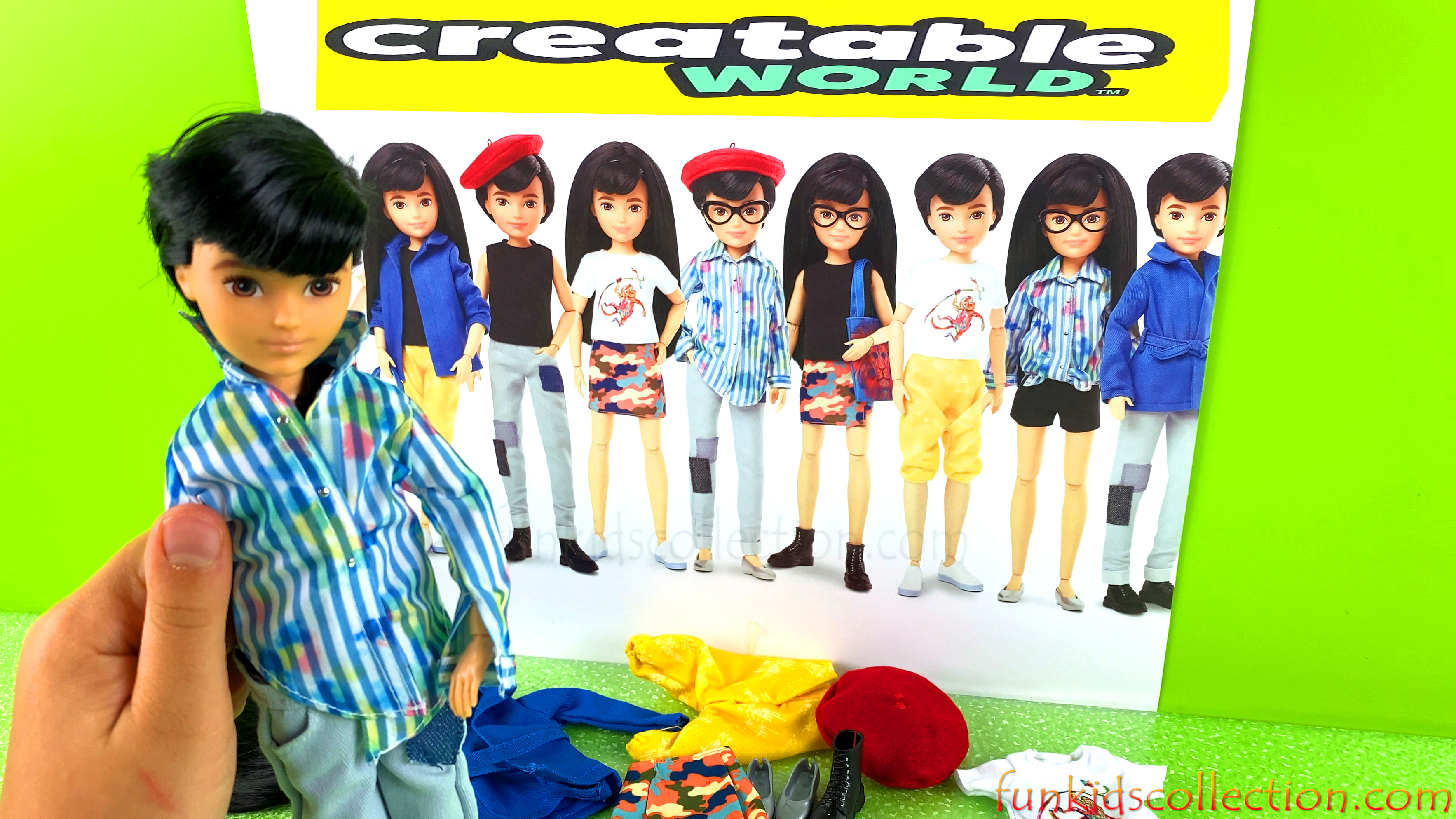 Mattel Creatable World Deluxe Character Kit Doll Unboxing Toys Review | EBD Toys