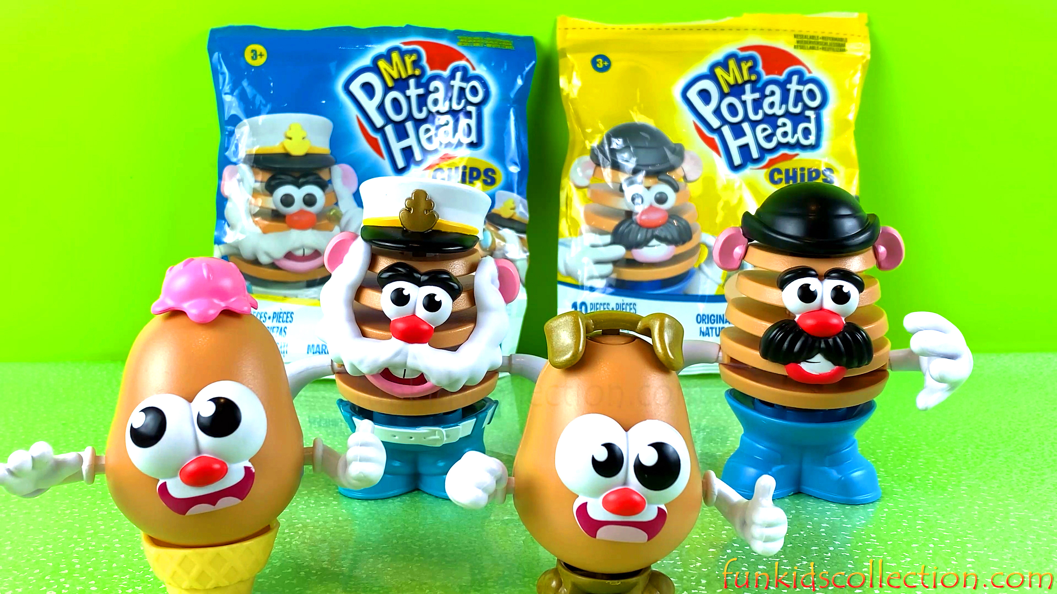 Mr Potato Head Chips Unboxing. Unwrapping Mr. Potato Head Tots Surprises | EBD Toys