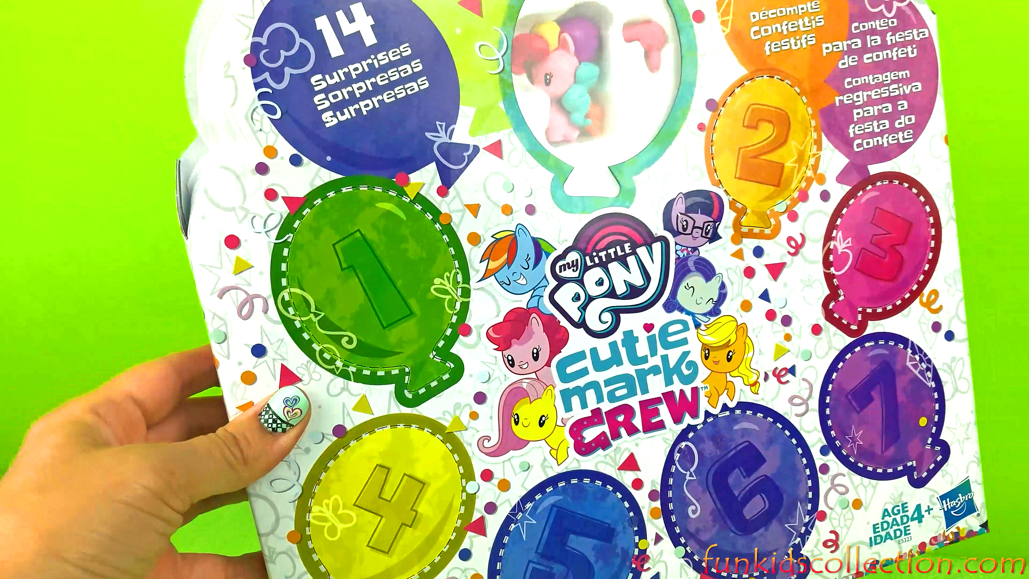 My Little Pony Cutie Mark Crew | Unboxing My Little Pony Confetti Party Countdown