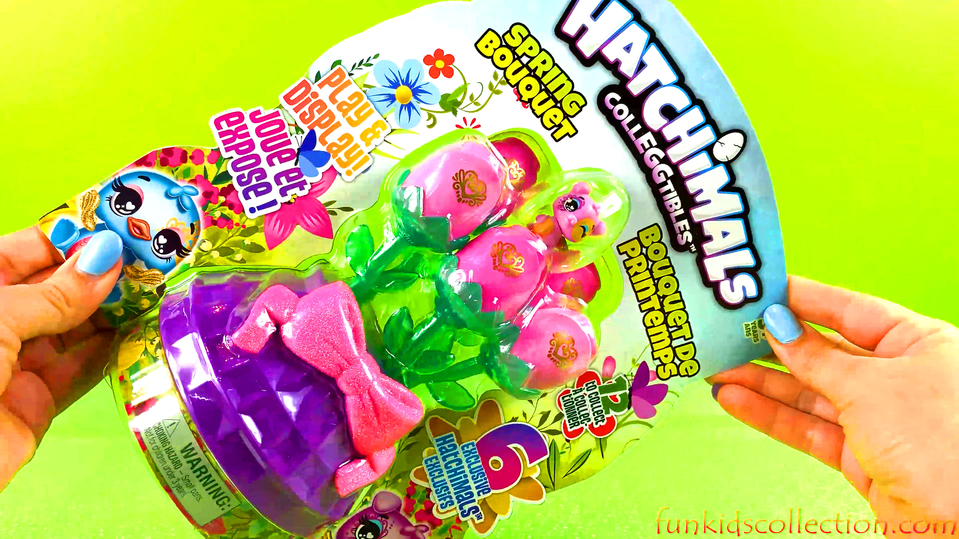 Unboxing Hatchimals Colleggtibles Spring Bouquet Play & Display Hatchimals CollEGGtibles