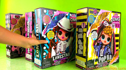 Unboxing 4 LOL Surprise OMG Remix Dolls | Lol Surprise Remix Pop BB Lonestar Honeylicious Kitty K