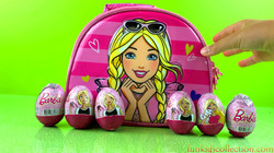Opening Barbie Egg Surprises | Barbie Lunch Bag with Barbie Egg Surprises - EBD Toys