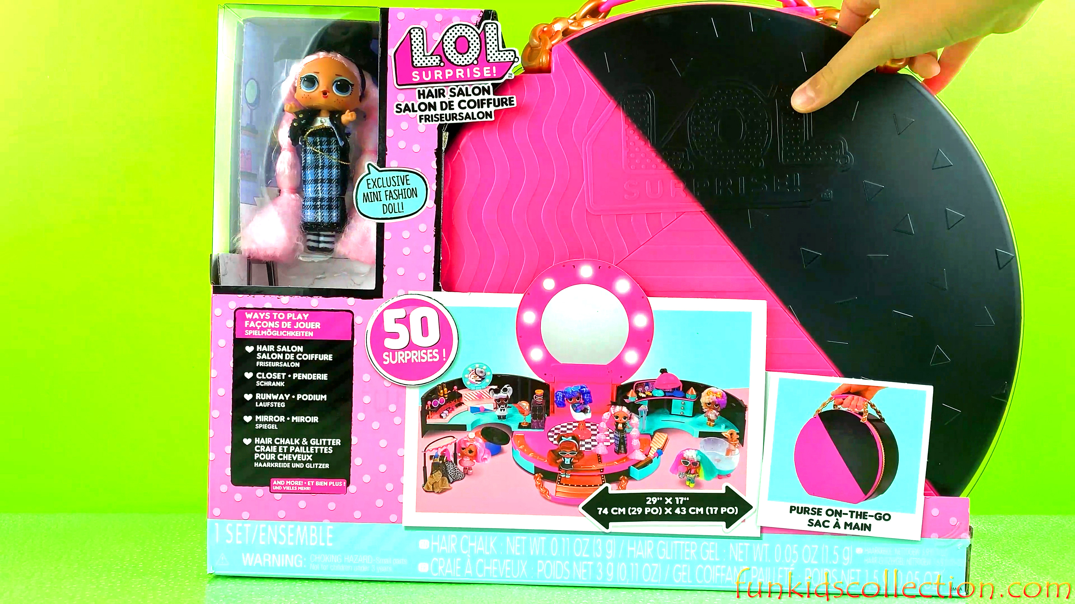 Lol Surprise Hair Salon Playset Unboxing | 50 Lol Surprises and Exclusive Mini Fashion Doll