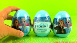 Frozen 2 Egg Surprises | Opening Disney Frozen 2 Plastic Surprise Eggs - EBD Toys