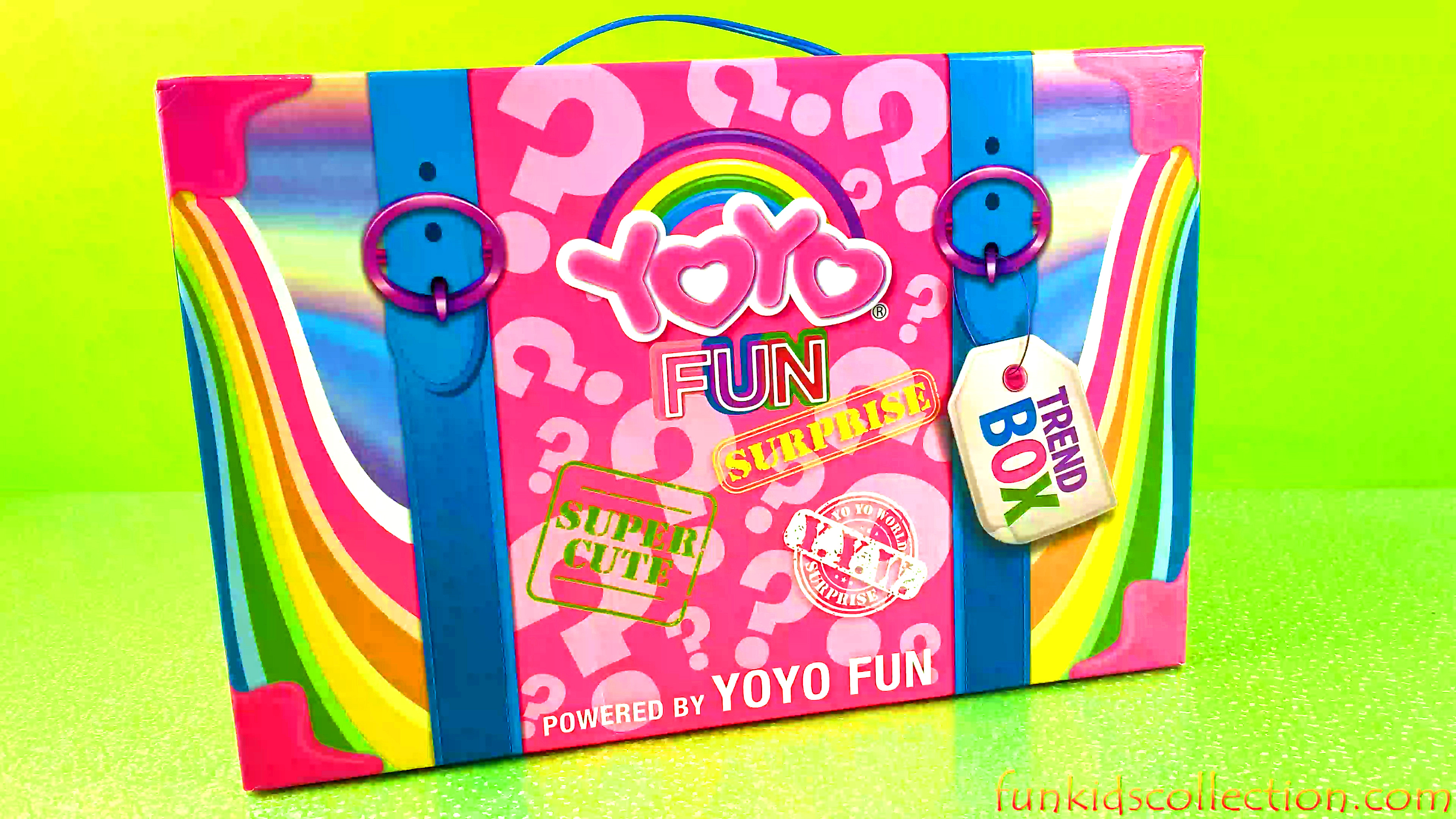 YOYO Fun Mystery Trend Box Review | YOYO Toy Surprises Slime Surprises Self Inflating Balloons