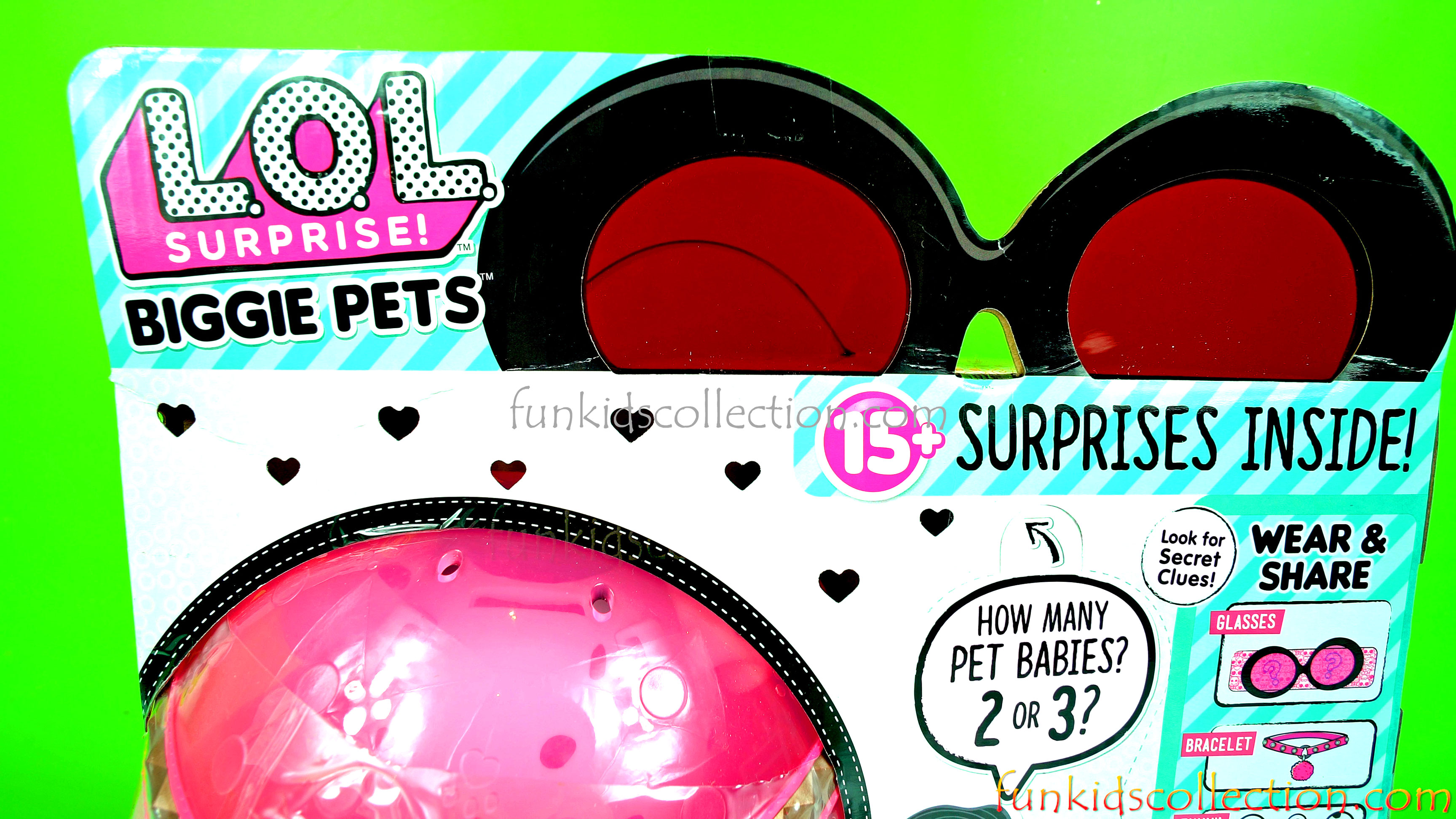 Lol Biggie Pets with 15 Surprises