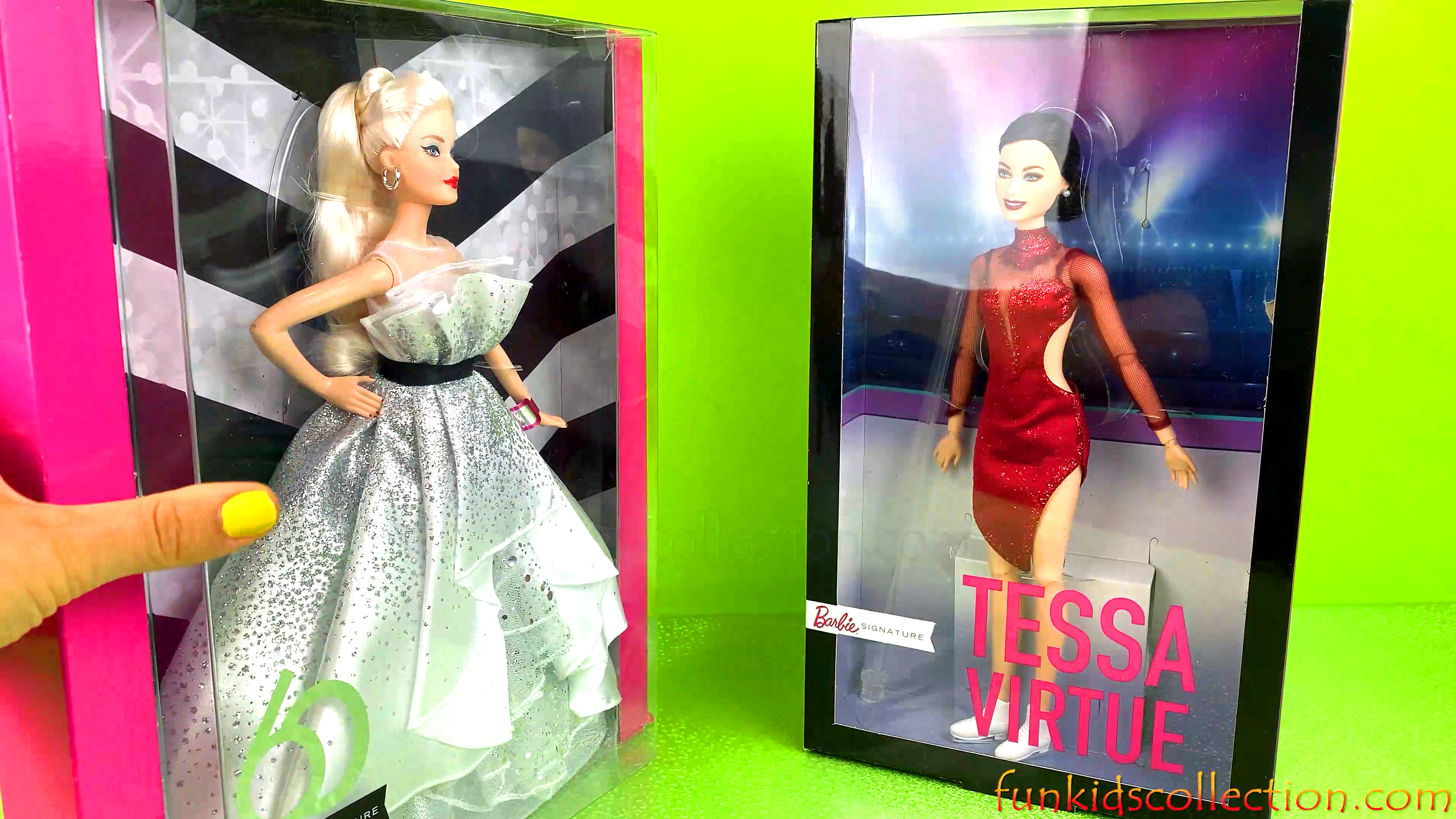 Barbie Signature 60 | Barbie Signature Fashion Model Collection | Barbie Signature Tessa Virtue