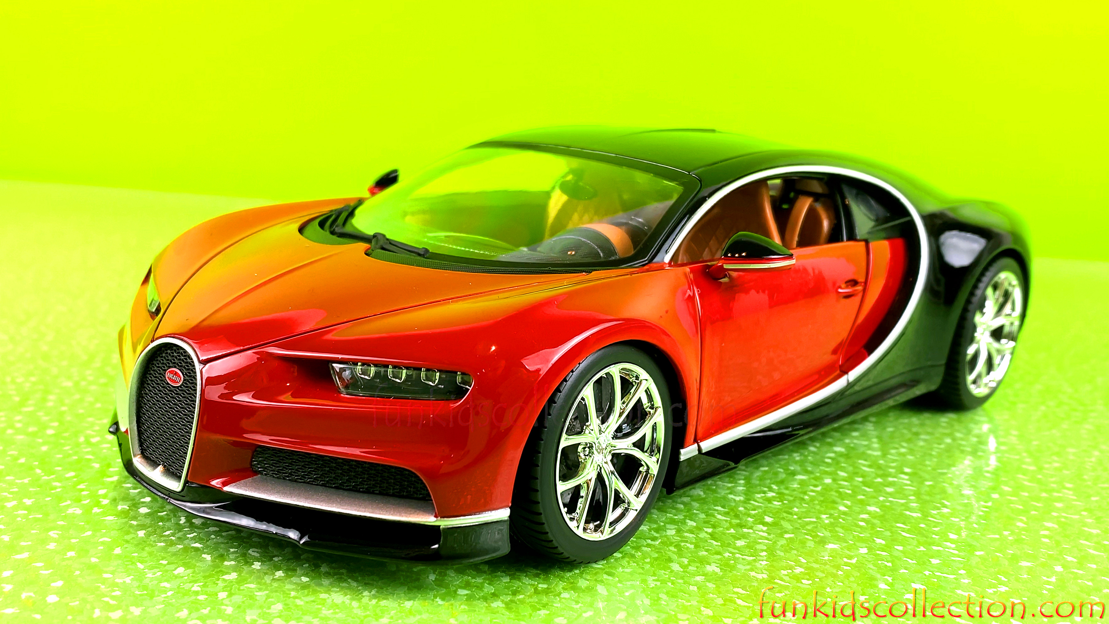 Die Cast Model Car | Bugatti Chiron Diecast Car 1/18 | EBD Toys