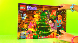 Advent Calendar Review | Lego Friends Advent Calendar Building Toys | EBD Toys