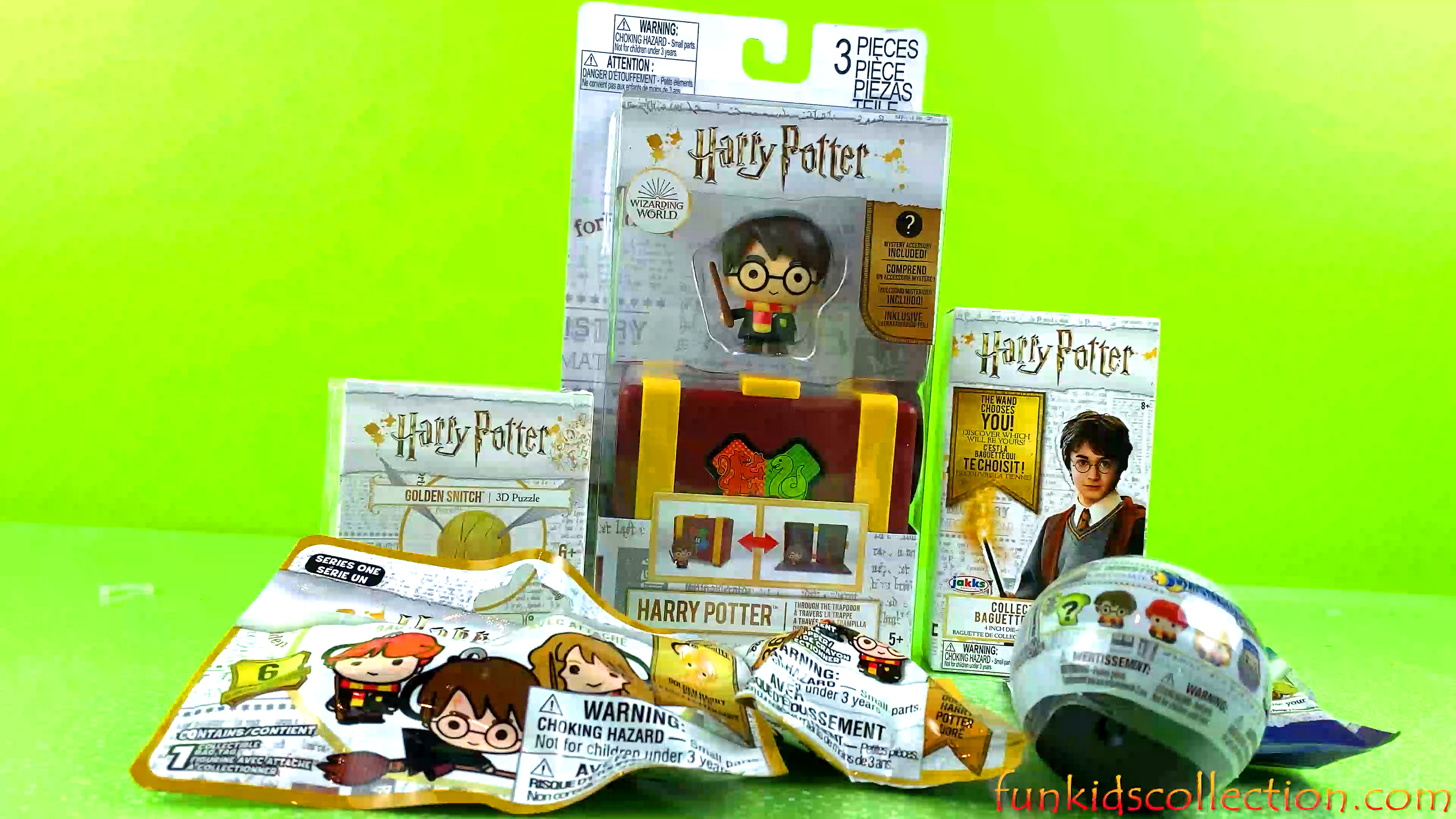 Harry Potter Toy Surprises | Harry Potter Golden Snitch Harry Potter Blind Bags Harry Potter Wand
