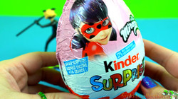 Big Kinder Egg Surprise Miraculous