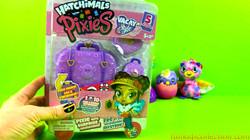 Hatchimals Pixies Vacay Style Surprise Dolls | Hatchimals Pixies Vacay Style Purple Passport Unboxin