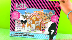 Gingerbread House Unboxing | Lol Surprise Gingerbread House DIY Decorating | EBD Toys