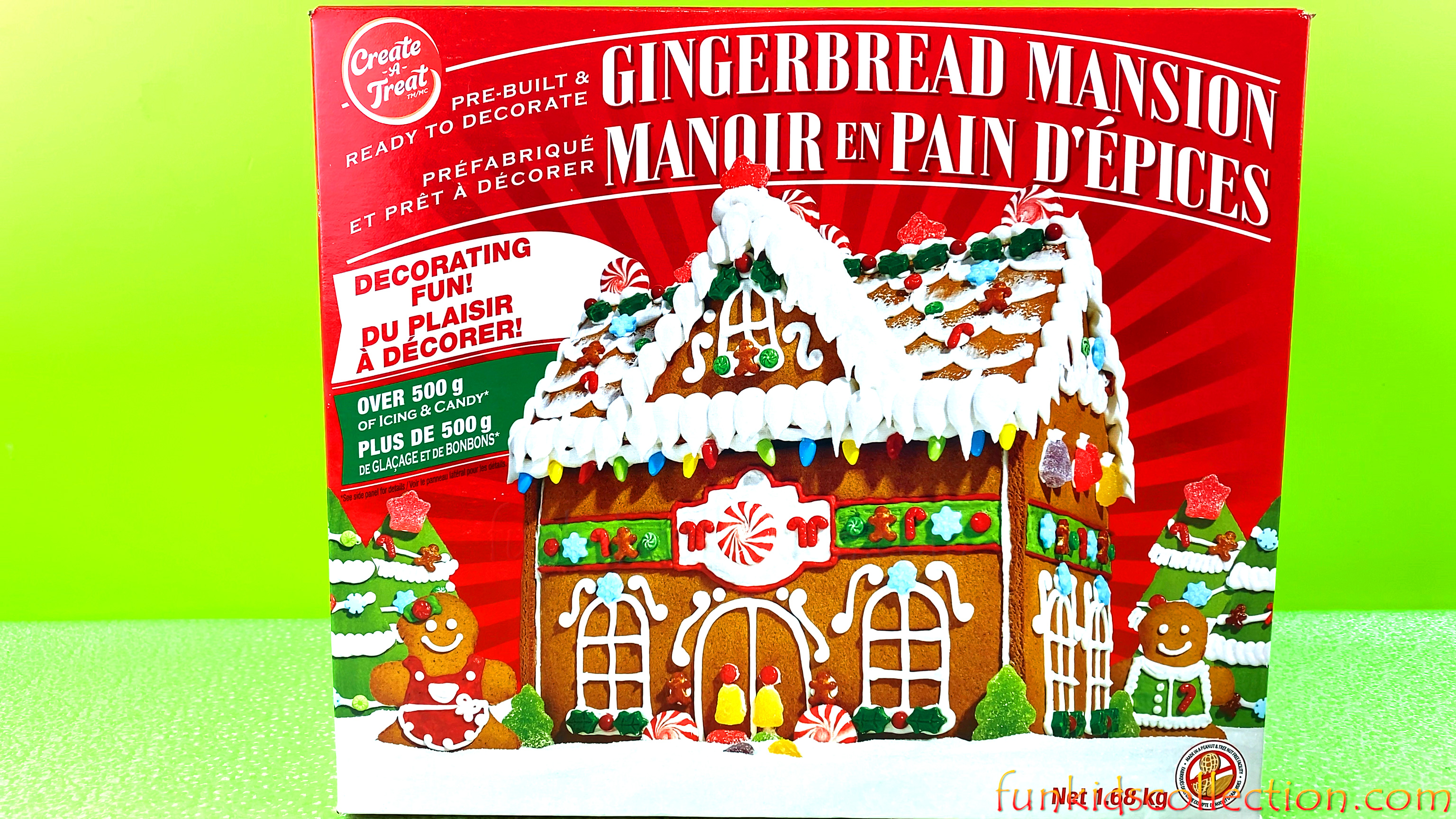 Ginger Bread Mansion Unboxing | DIY Gingerbread House Decorating | EBD Toys