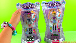 Twisty Girlz Authentic Bracelets | Twisty Girlz Series 1 | Fashion Dolls Turned into Bracelets