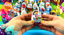 Opening 65 Eggs Surprises of Kinder Egg Surprises and Zaini Egg Surprises Disney Super Eggs Opening