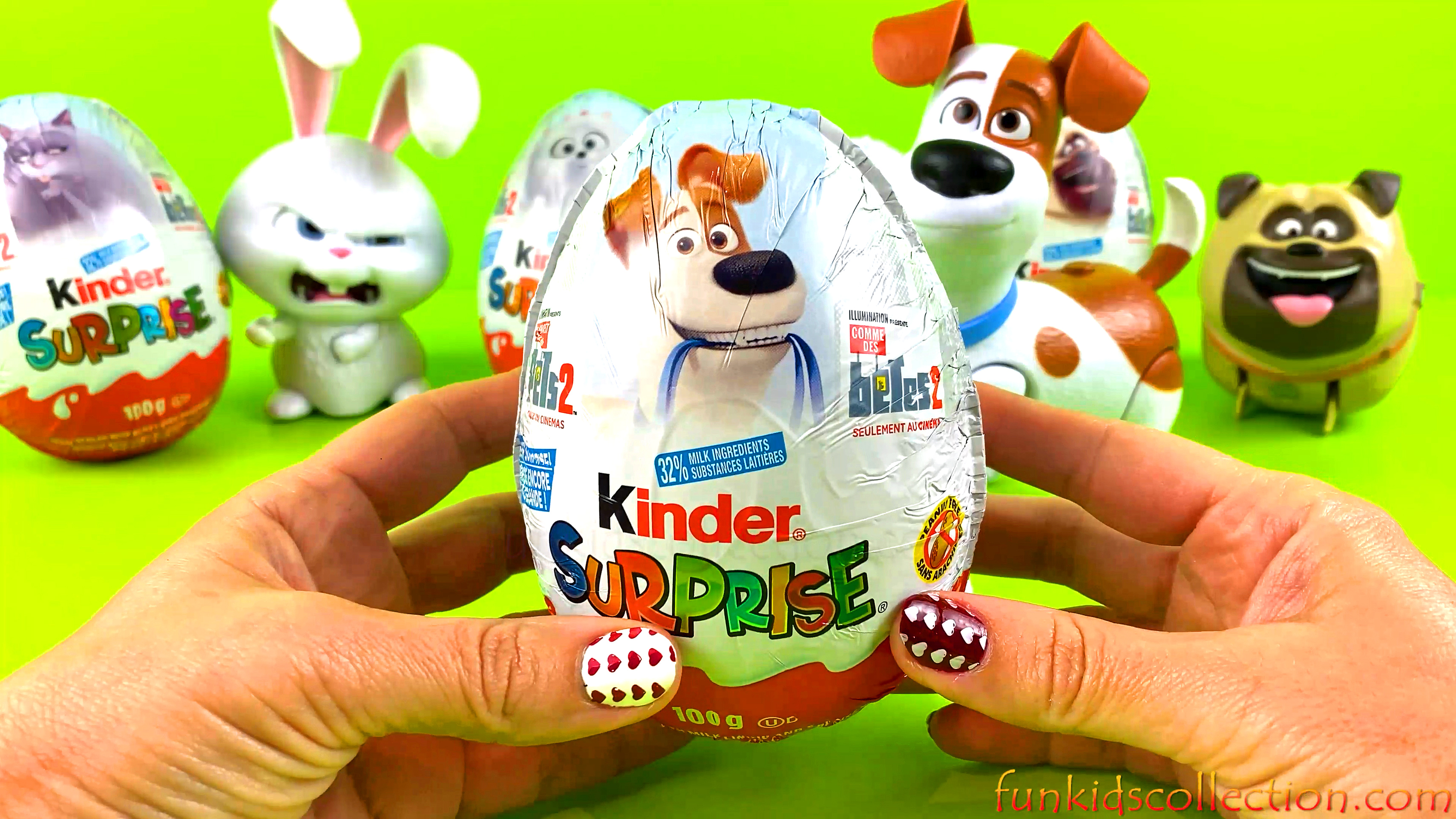 Kinder Eggs | The Secret Life of Pets 2 | Opening The Secret Life of Pets 2 Kinder Egg Surprises