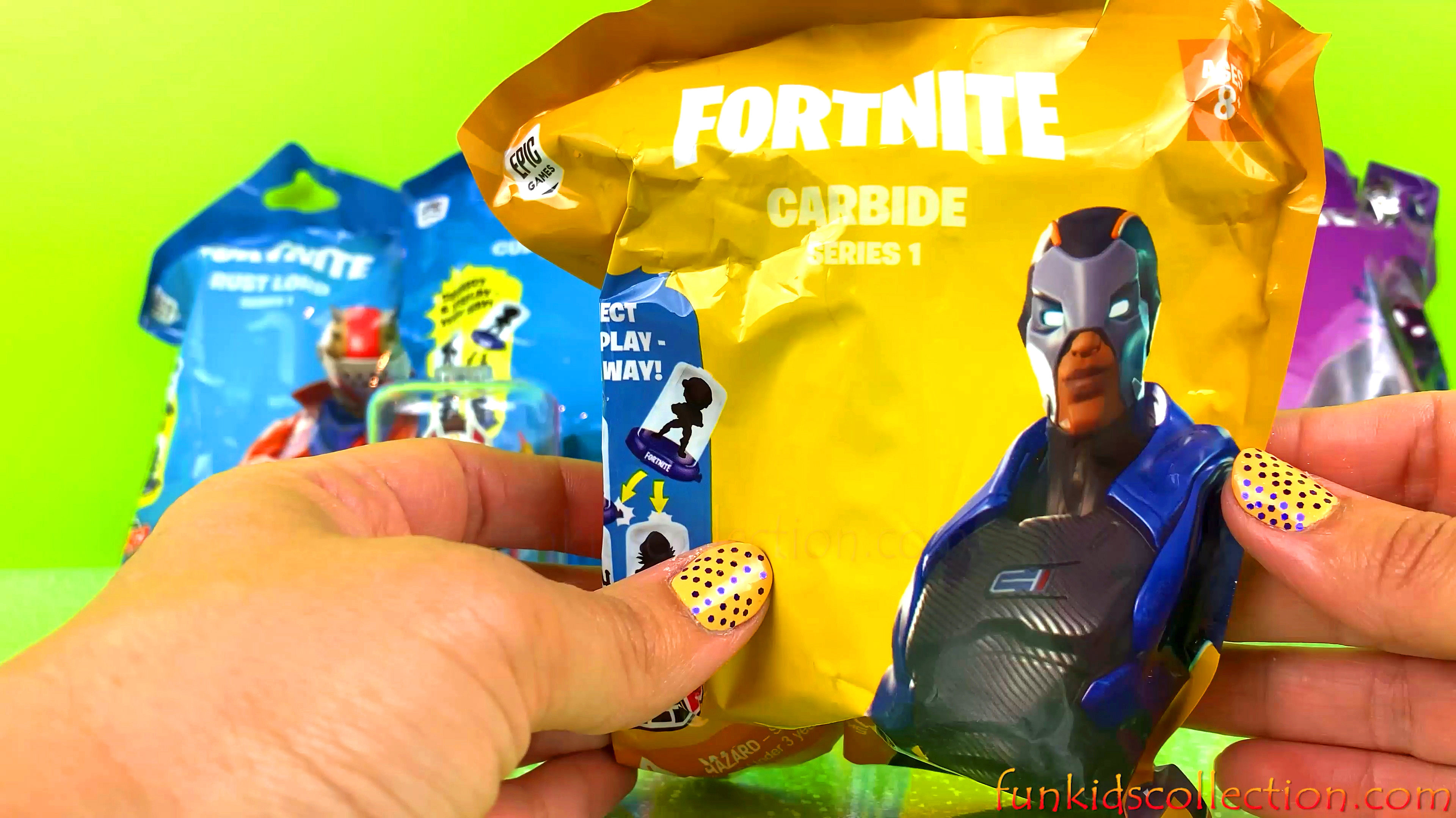 Fortnite Blind Bags Opening Series 1 | Fortnite Drift Blind Bag Fortnite Carbide Fortnite Rust Lord