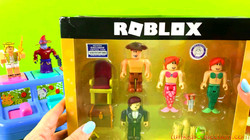 Learn Numbers and Lean Colors with Pop Up Animals Unboxing Roblox Neverland Lagoon
