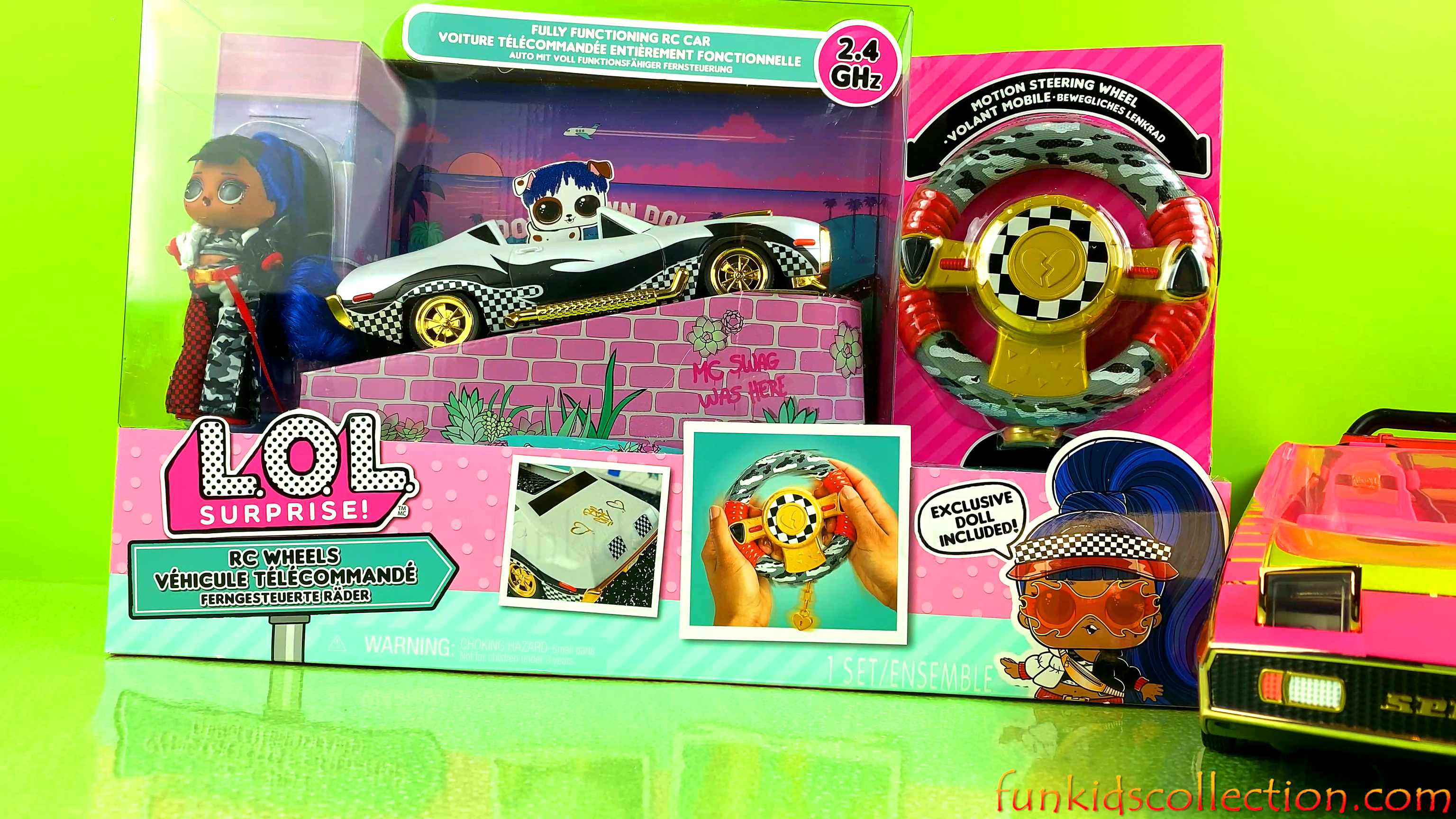 Lol Surprise Cars | Lol Surprise RC Wheels Car Unboxing | Opening Lol Surprise Blind Bags | EBD Toys
