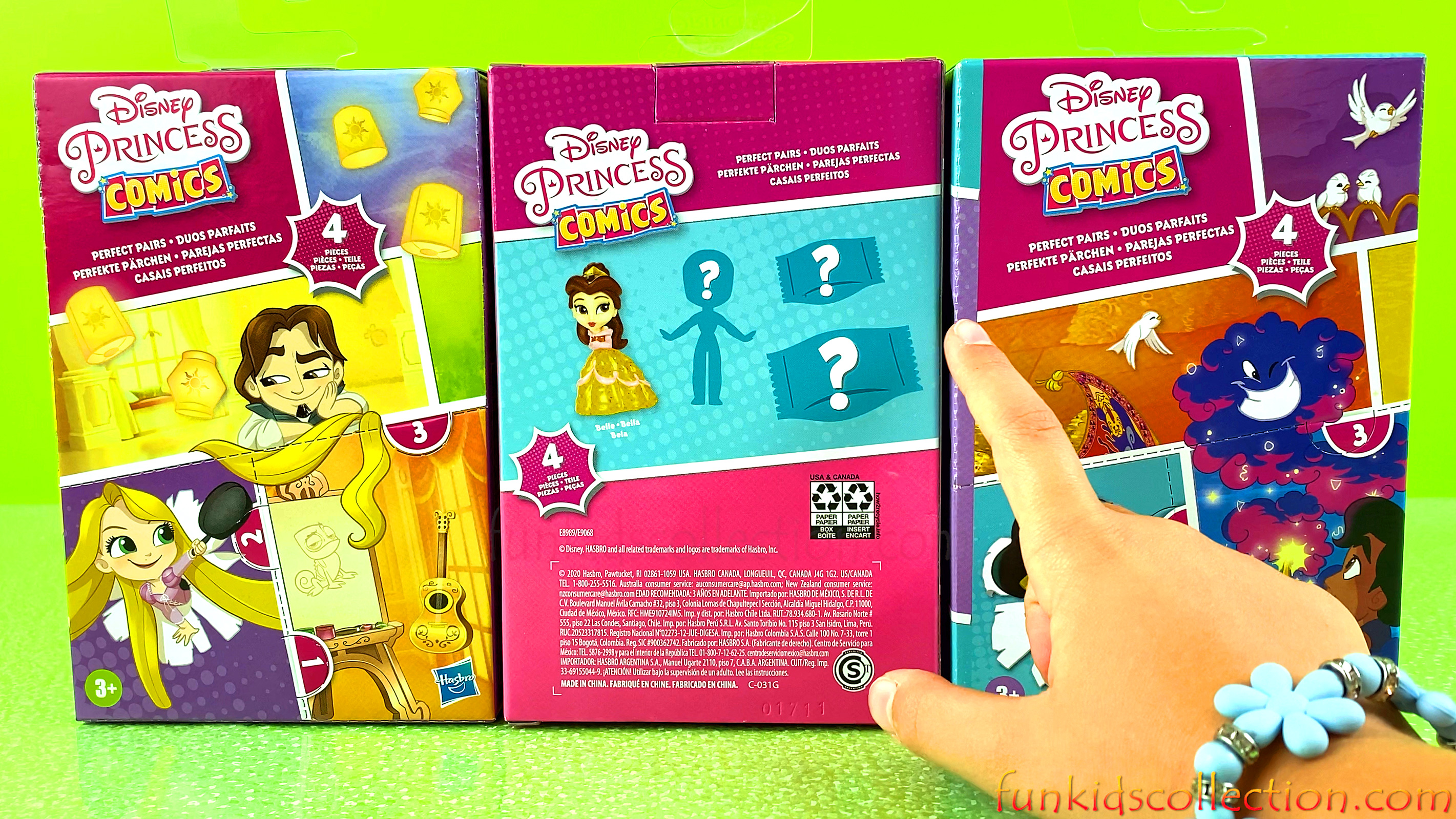 Disney Princess Comics Characters | Disney Princess Comics Perfect Pair | EBD Toys